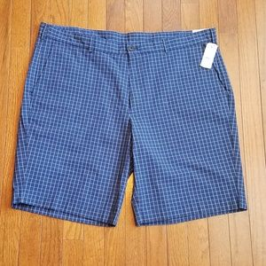 Mens Brooks Brothers Shorts Blue Checked Size 42